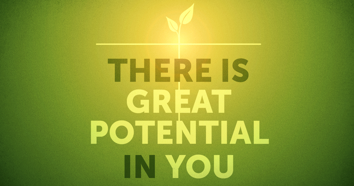 There is great potential ... />
